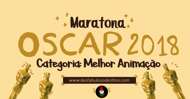 maratona oscar - melhor animação